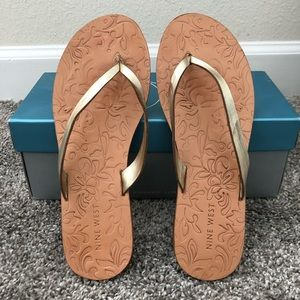Nine West Leather Sandals - Size 8